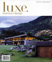 Cover of Luxe Magazine Spring 2014 edition